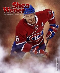 Montreal Canadiens, Shea Weber, The Ch, Hockey Teams, Champagne, Baseball Cards, Sports, Hs Sports, Sport