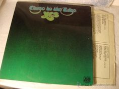 LP YES - CLOSE TO THE EDGE (ESPAÑA-1972) CARPETA ABIERTA PORTADA VG++ DISCO VG++
