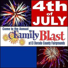 4th of July Family Blast at @eldocofair  Gates open at 4:00 Monday July 4th More info in bio http://ift.tt/291ZJsa