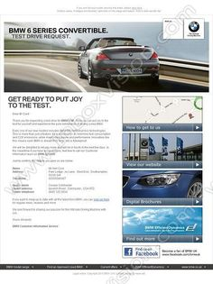 Company:  BMW  Group Ltd Subject:  BMW test drive              INBOXVISION, a global email gallery/database of 1.5 million B2C and B2B promotional email/newsletter templates, provides email design ideas and email marketing intelligence.  http://www.inboxvision.com/blog  #EmailMarketing #DigitalMarketing #EmailDesign #EmailTemplate #InboxVision #Emailideas #NewsletterIdeas