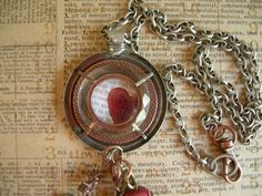 Industrial Chic Mixed Media Altered Art by MyTrendyTrinkets