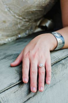 Gorgeous Engagement Ring Shot | Nicole Caudle Photography | Vintage Southern Charm at The Not Wedding Charleston!