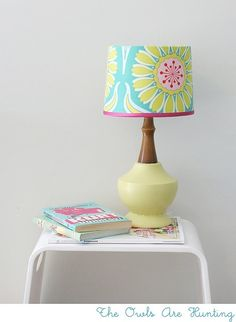 okay…The other day I scored 4 plain lampshade for about $2.50 a piece…(do I have four lamps that fit them…no. but that is soooo besides the point.) So I quickly go on in pintrest to see what I should do with these plain janes….so many fun ideas! So sit back…relax…and enjoy this lampshade goodness! a …