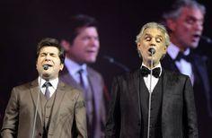 Daniel e Andrea Bocelli emocionam o público em Aparecida