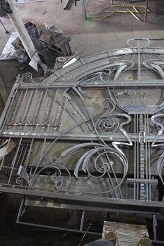 #Iron_gate and #fence_iron. Ковка. Художественная ковка. Забор. Калитка. #Metalmade