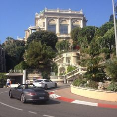#Casino Fancy cars and rich people certainly are a standard site here in Monaco, more interesting to me though was walking around part of the Monaco Gran Prix circuit. This is one of the hair pin corners. by ziek_hudson from #Montecarlo #Monaco