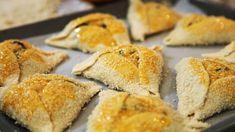 Cypriot Easter bread (flaounes): Haloumi recipes and Haloumi food - SBS Easter Bread Recipe, Easter Recipes, Snack Recipes, Cooking Recipes, Snacks, Savoury Recipes, Turkish Recipes, Greek Recipes, Crepes