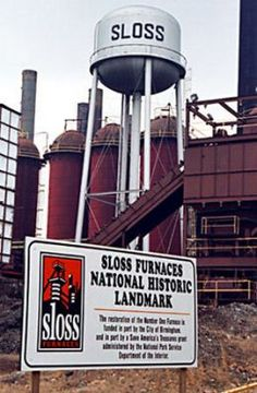 Do you know about the Sloss Furnace. Its one of the most haunted places in America