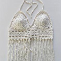 New halter top pattern. #crochet #deboraholearypatterns #yarn #bikini…