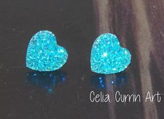 Hey, I found this really awesome Etsy listing at https://www.etsy.com/listing/175698625/aqua-blue-teal-druzy-earrings-drusy