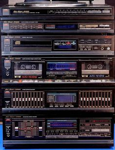 Find fisher stereo and ev from a vast selection of Vintage Electronics. Hifi Stereo, Hifi Audio, Hi Fi System, Audio System, Technics Hifi, Kenwood Audio, Radios, Speaker Amplifier, Home Studio Music
