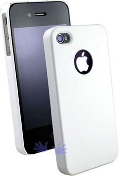 Gogo Snap On Hard Shell Case for iPhone 4 and iPhone 4S - White - Matte (AT and Verizon)