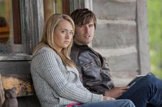 """Graham Wardle and Amber Marshall in Episode 506 - """"The Slippery Slope"""" Heartland Season 5, Heartland Episodes, Watch Heartland, Amy And Ty Heartland, Heartland Tv Show, Ty Et Amy, Riders On The Storm, Amber Marshall, Tv Land"""