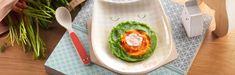 Découvrez la recette pour bébé de Colin et purées colorées dès 6 mois pour le déjeuner. Faites le plein d'idées grâce à Blédina! Avocado Egg, Plastic Cutting Board, Pots, Breakfast, Cooking Food, Recipes, Morning Coffee, Pottery