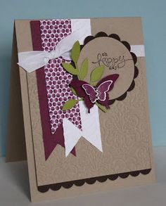 Stampin' Up! Card by Just Julie B's Stampin' Space: Bloomin' Marvelous!