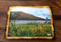 Fall On Yellow Wood Lake Brown County Indiana by UniquePrimtiques