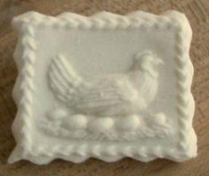Cookie made with Miltenberg Chicken mold #2353