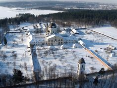Pažaislis monastery,built in XVII c.