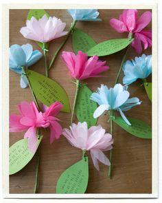 Einladung zum Kindergeburtstag Blume Mehr