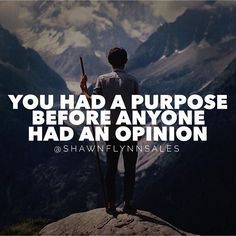 Your purpose needs to always outweigh the opinions of others. People will try to test your commitment to your purpose by planting seeds of fear and doubt into your mind. Rise above it. See those people and their opinions for what they are - tests. Your will, mental fortitude and conviction will be tested greatly. Rise above. Remember your purpose. It was there first. #ThursdayThoughts #Purpose Rise Above Quotes, Dating Quotes, Life Quotes, Doubt Quotes, Mental Fortitude, Breakup Advice, Purpose Driven Life, Relationship Blogs, Motivational Posts