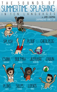 different-languages-expressions-illustrations-james-chapman-15 sounds in different languages