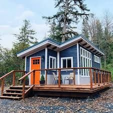 casa - Búsqueda de Google Buy A Tiny House, Building A Tiny House, Tiny House Living, Tiny House Design, Tiny House On Wheels, Cozy Living, Shed Cabin, House Worth, Tiny House Nation