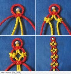 50 ideas for the simple plaited DIY jewellery. bracelets, earrings, pendants, necklaces, bands, belts.