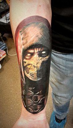 Realism tattoo on forearm by Aleksandr Set
