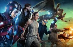 Legends of Tomorrow – A Superhero Sci-Fi Adventure with Doctor Who Inspiration
