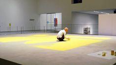 Wolfgang Laib Artist Installation MoMA Museum of Modern Art New York
