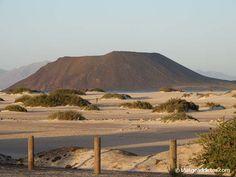 Dunas de Corralejo e isla de Lobos (Fuerteventura)