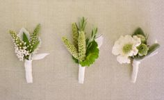 Boutonnieres | Dainty Boutonnieres | The Knot Blog – Wedding Dresses, Shoes ...