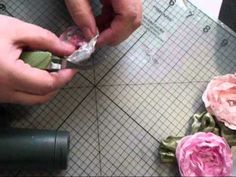Amazing instructions for making flowers and video link here.