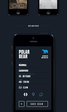 Anipedia app concept by Filip Slováček, via Behance