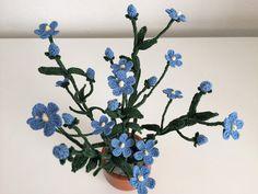Il Blog di Sam: Spiegazione del fiore del lino all'uncinetto