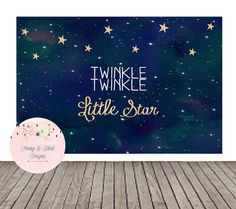 Digital Twinkle Twinkle Little Star Backdrop, Twinkle Little Star Birthday Backdrop, Twinkle Little Star Baby Shower Backdrop, Sweet Table Star Baby Showers, Baby Boy Shower, Money Box Wedding, Star Party, Party Party, Party Ideas, Gender Party, Baby Shower Backdrop, Birthday Backdrop