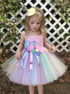 70f7c62b5 Unicorn tutu dress - pink birthday dress - pink flower girl dress -  halloween costume - tutu dress - tutu - birthday tutu