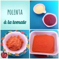 BB mange bio: Polenta à la tomate