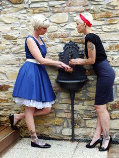 Pin Up, Ballet Skirt, Skirts, Fashion, Moda, Tutu, Fashion Styles, Skirt