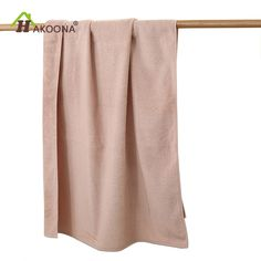 HAKOONA EXPORT Japan Simple Double Soft Terry Cotton Large Thick Absorbent Bath Towel For Adults Men Women Children 70x140cm #Affiliate