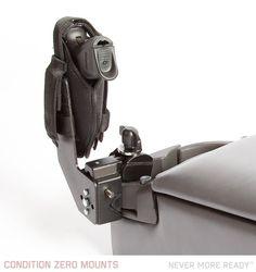 Condition Zero Mounts - pistol close mount - bed side, auto, motorcycle, wheelchair