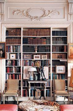 Bookshelf Plans, Bookshelves, Park Avenue Apartment, Under Stairs Cupboard, American Interior, Home Libraries, Interior Decorating, Interior Design, Decorating Ideas