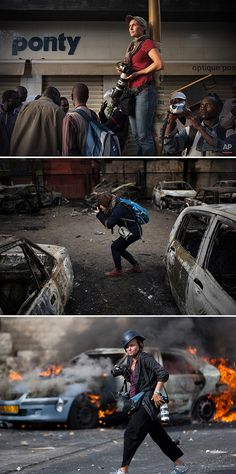 The women warriors of photojournalism - Three female photojournalists are honored for capturing humanity besieged in war zones.