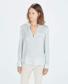 CHEMISE BOUTON COL