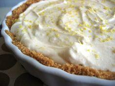 tarte de iogurte, limão e gengibre