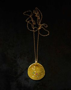 Orit Elhanati | The String | Big Gold Necklace