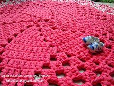 Um blog de crochet em fio de malha, trapilhos