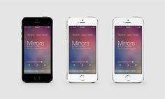 #uidesign #musicapp #appdesign #mockup #graphicdesign #photoshop #iOS
