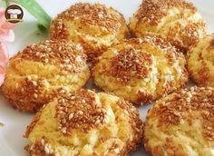 New : Sesame Cookies Recipe, Tea Time Snacks, Best Cake Recipes, Cookie Recipes, Recipe For Sesame Cookies, Homemade Rolls, Turkish Recipes, Food Design, No Cook Meals, No Bake Cake