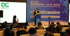 """DECENT co-founder, Matej Michalko, attended Energy Internet & """"One Belt, One Road"""" Summit 2016, in China's financial capital, Shanghai https://decent.ch/decent-welcomed-annual-energy-internet-summit-2016/"""